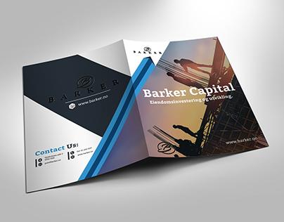 Real Estate Presentation Folder Design