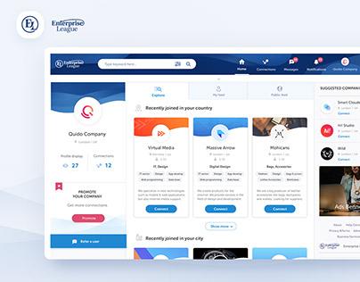 Enterprise League -web platform