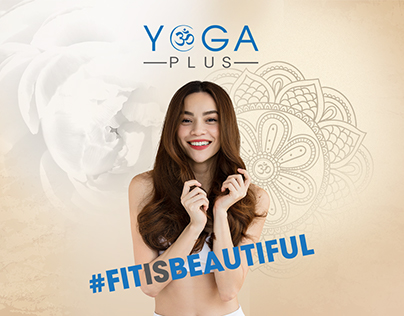 Yoga Plus - #FitIsBeautiful - Landingpage Design