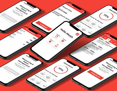 Beacon - Mobile App Design