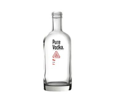 Pure Vodka branding