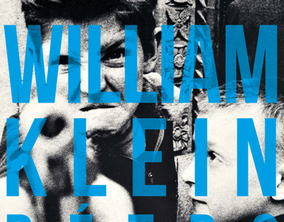 Exhibition poster // WILLIAM KLEIN - Rétrospective