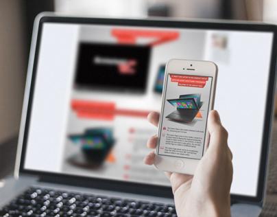Lenovo Yoga - Facebook App