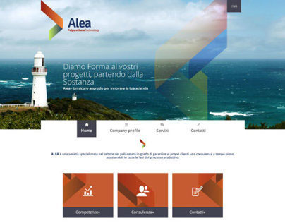 Alea - Responsive website