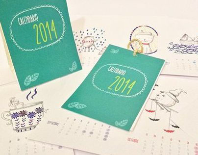 illustrated Calendar 2014