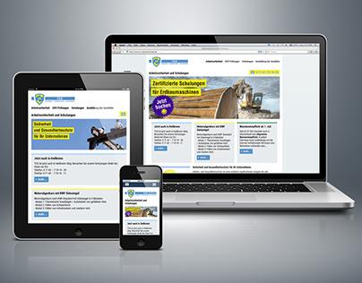 Responsive web design for TCS