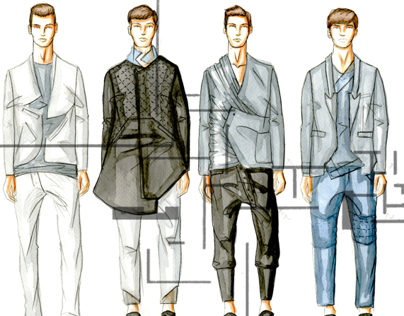 Menswear Tailored Capsule Collection