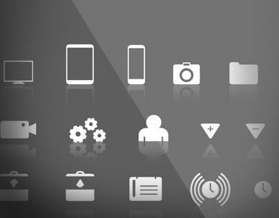 Random Assortment of Symbols and Icons