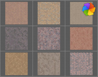 High resolution paving seamless textures.