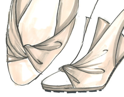 """""""THE CITY TRAVELLER"""" shoes design project"""