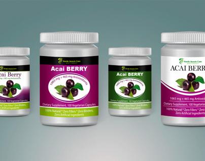 Multivitamins label design