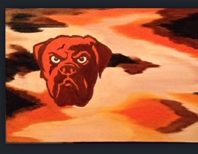 Cleveland Browns Painting
