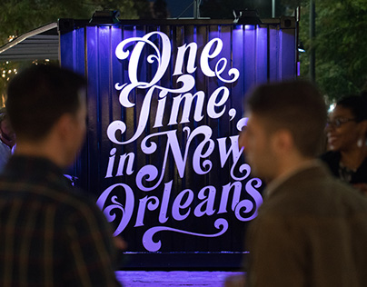 One Time, in New Orleans