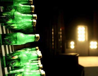 Mountain Dew Bottle Installation
