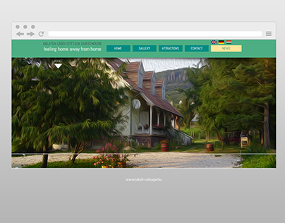 Labdi-Cottage Guesthouse - webpage