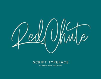 RedChute Modern Script Typeface Handmade Brush