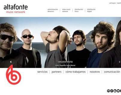 Altafonte Music Network