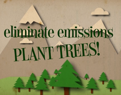 Save the planet - Motion graphic (2013)