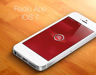 Radio App Proposal - IOS7