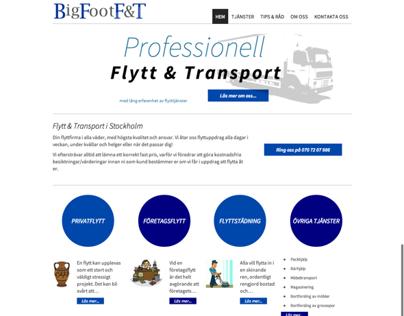 Moving company - Bigfoot Flytt