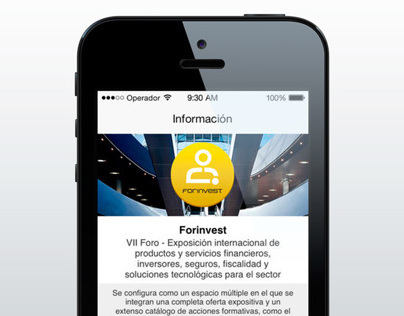 FORINVEST 2014 App