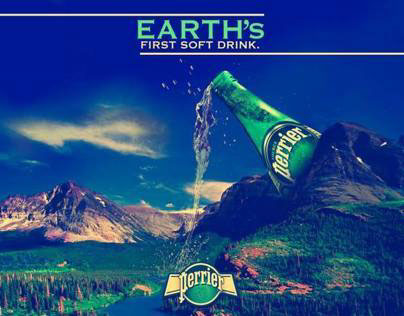Perrier Ads.
