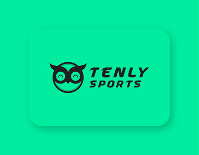 Tenly sports shop logo design - brand identity design