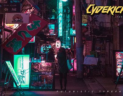 Cydekick - Futuristic Fonts