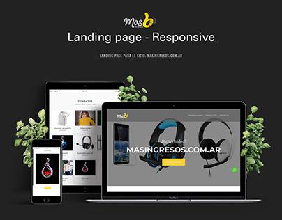 Landing page - masingresos.com.ar