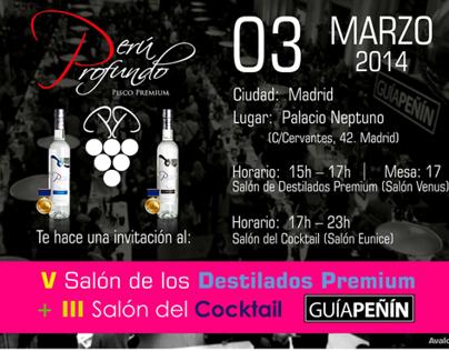 Flyer    Salón de los Destilados Premium   Guía Peñín