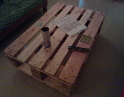Pallet Furniture (The Self Help Project)