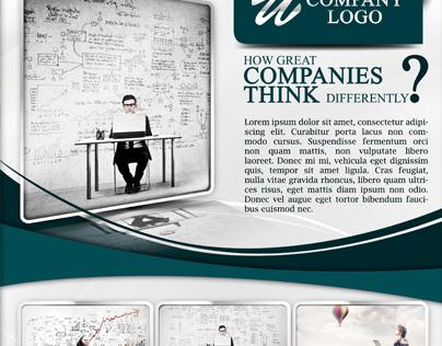 Premium Business Flyer Template 2 Versions