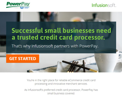 PowerPay | Infusionsoft - Responsive Landing Page