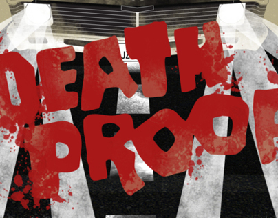 "opening credits of ""Death proof"""