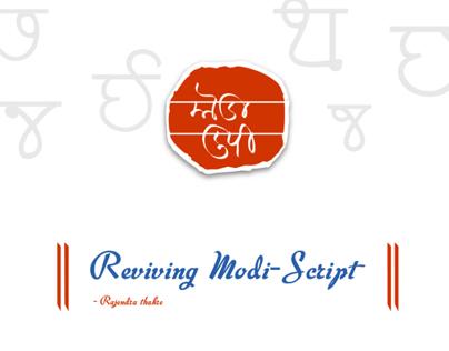Type Design for Modi-Script