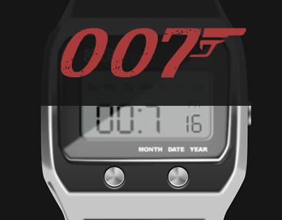 James Bond watches