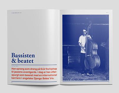 Magazine redesign - Jazz Special