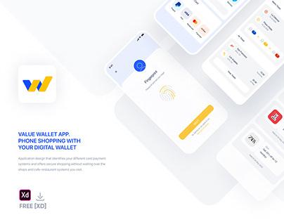 Value Wallet App - Free[XD]