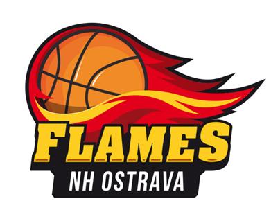 Redesign Loga Basketbalového týmu NH Ostrava Flames