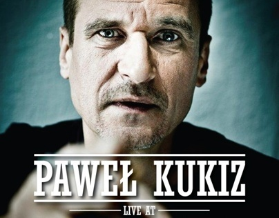 Pawel Kukiz at Edinburgh, poster