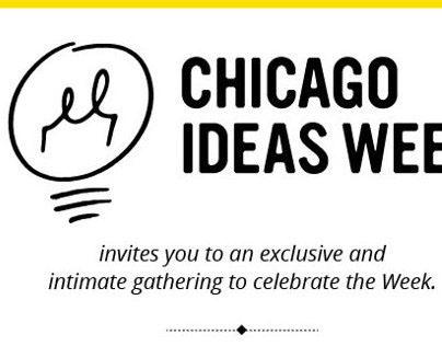 Chicago Ideas Week Email blasts