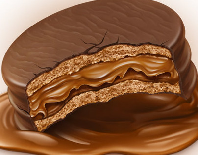 Alfajor Illustration