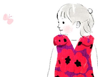 Kid Fashion Illustration