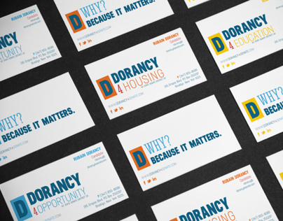 Dorancy4Senate Branding