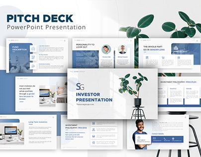 Sova Group - Pitch Deck Design