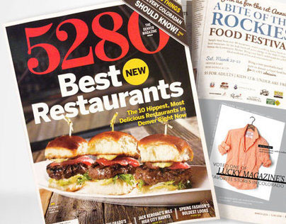 5280 Magazine Advertising for Perch Vail