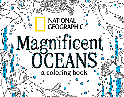 National Geographic Coloring Book