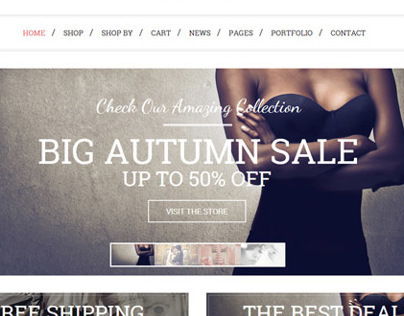 Munditia - a clean ecommerce Wordpress Theme
