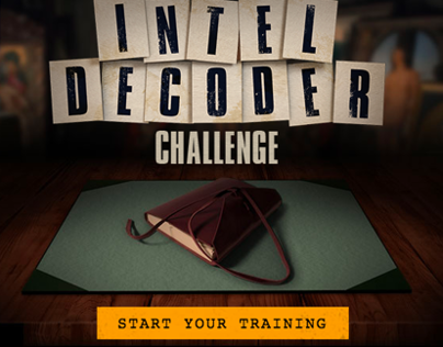 The Monuments Men: Intel Decoder Game