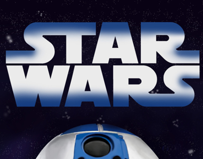 "Star Wars cartel ""R2-D2"""